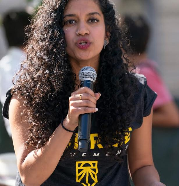 Varshini Prakash, National Leader of the Sunrise Movement, to Speak in Concord